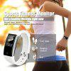 Diggro S2 Smart Sports Fitness Tracker Heart Rate Bracelet Sleep Quality Monitor Call/Notification reminder IP67 Waterproof for Android IOS - WHITE