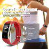Diggro S2 Smart Sports Fitness Tracker Heart Rate Bracelet Sleep Quality Monitor Call/Notification reminder IP67 Waterproof for Android IOS - RED