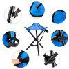 AOTU AT6708 29*29*40 L Size Folding Fishing Camping Stool - BLUE