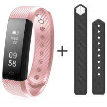 Diggro ID115HR Bracelet Bluetooth 4.0 Pedometer Calorie Sleep  Monitor Call/SMS Reminder Sedentary Reminder for Android IOS