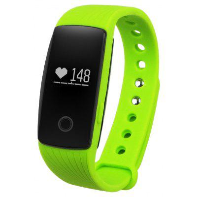 Diggro ID107HR Heart Rate Smart Bracelet Call/SMS Reminder Pedometer Sedentary Sleep Monitor Remote Capture for Android iOS