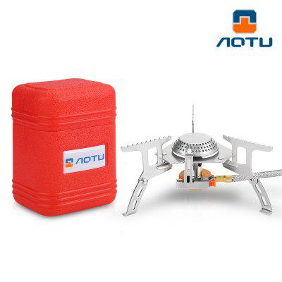 AOTU AT6303 Portable Outdoor Folding Gas Stove Camping Equipment Hiking Gas Stove
