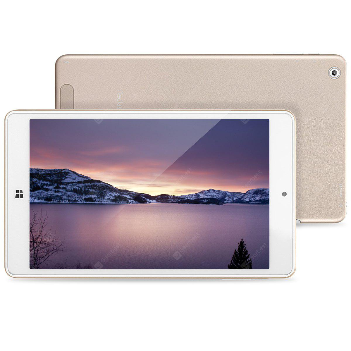 Teclast X80 Power 8.0 inch IPS Support Windows 10 + Android 5.1 Intel Cherry Trail Z8350 64bit Quad Core 2+32G Tablet PC Golden