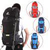 Free Knight 60L Internal Frame Trekking Camping Travel Rucksack Water Resistant Mountaineering Outdoor Backpack Hiking Bag - BLACK