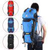 Free Knight 60L Internal Frame Trekking Camping Travel Rucksack Water Resistant Mountaineering Outdoor Backpack Hiking Bag - BLUE