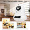 Sricam 1080P 2.0MP HD H.264 Wifi Megapixel Wireless CCTV Security IP Camera SD Slot White AU - MILK WHITE