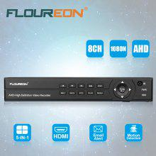 FLOUREON 8CH 1080P 1080N HDMI H.264 CCTV Security Video Recorder Cloud DVR EU