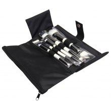 Ovonni 5 in 1 Double Ended Makeup Tool Brush Set with Cloth Bag