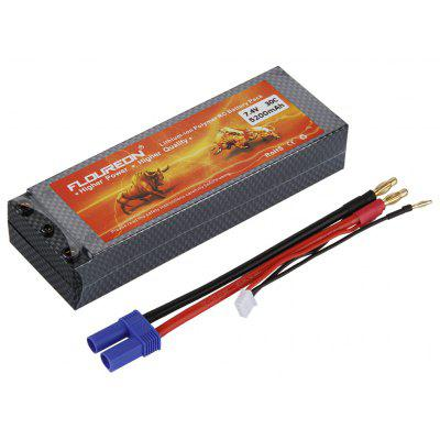 Floureon 2S 30C Lipo Battery 7.4V 5200mAh ES5 Plug