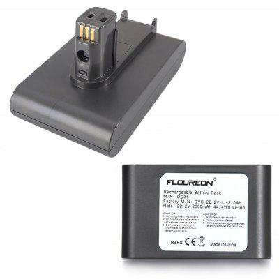 Floureon Vacuum Cleaner 22.2V 2000mAh Battery Li-on