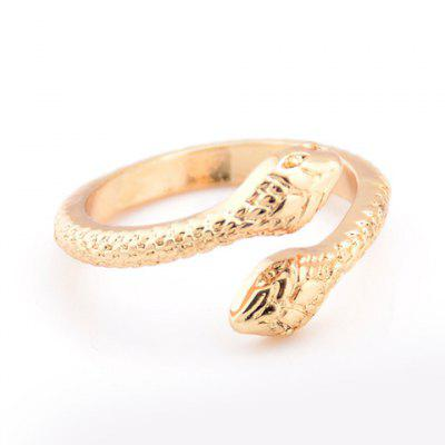 Snake Shape Alloy Ring