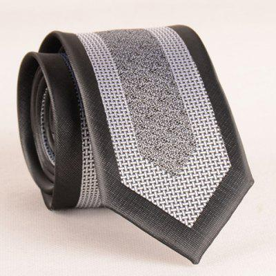 Stylish Weaving Jacquard Patchwork 6CM Width Tie For Men