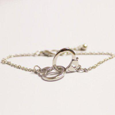 Chic Handcuffs Shape Valentine's Day Gift Bracelet For Women