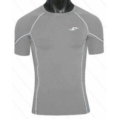 Round Neck Quick-Drying Short Sleeve Slimming Men's T-Shirt