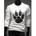 Buy WHITE, Apparel, Men's Clothing, Men's T-shirts, Men's Long Sleeves Tees for $17.64 in GearBest store