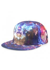 Stylish Weird Animal and Light Ray 3D Print Baseball Cap For Men