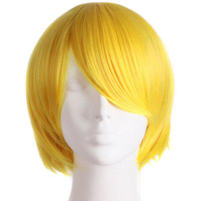 Charming Straight Synthetic Anti Alice Hair Harajuku Cosplay Wig For Men
