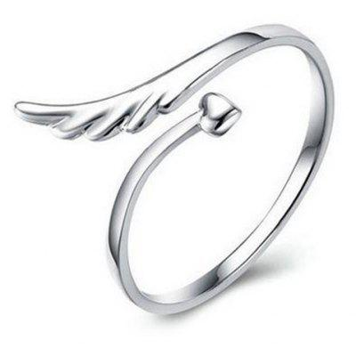 Heart Wing Cuff Ring