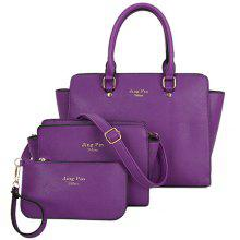 7b8e39d928 27% OFF Graceful PU Leather and Letter Print Design Women s Tote Bag