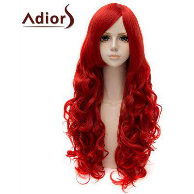 Fashion Side Bang Long Curly Cosplay Wig For Women