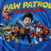 Cute Short Sleeve Paw Patrol Pattern Boy's T-Shirt - BLUE