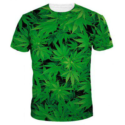 Short Sleeve Green T Shirt