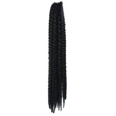 Long Kanekalon Synthetic Dreadlock Braided Hair Extension For Women