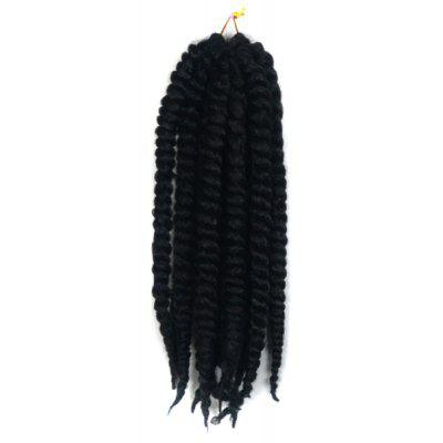 Long Kanekalon Synthetic Twist Braided Hair Extension