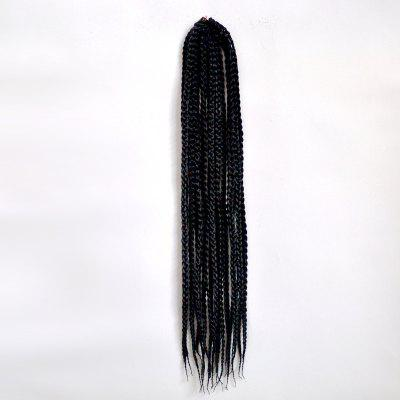 Trendy 14Pcs/Lot Long Synthetic Handmade Medium Braided Hair Extension For Women
