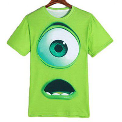 Short Sleeve Neon Green T Shirt