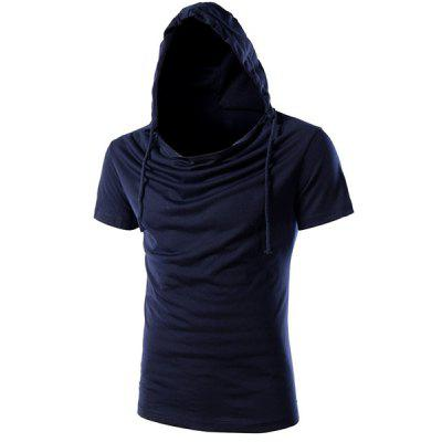 Hooded Short Sleeves T-Shirt