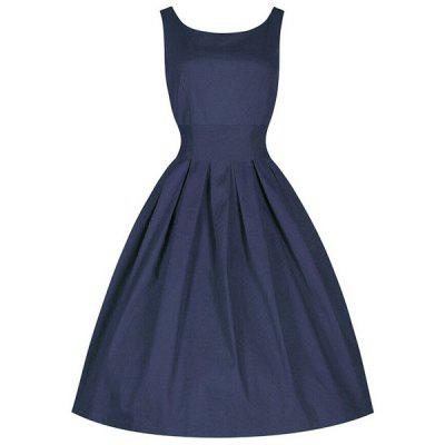 Vintage Cocktail Skater Dress