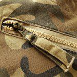 best Camouflage Straight Leg Multi-Pocket Loose Fit Cargo Pants For Men