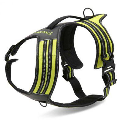Adjustable Breathable Dog Chest Harness Pet Vest Rope Collar