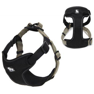 Adjustable Breathable Reflective Dog Chest Harness Pet Vest Rope Collar