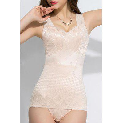 Fashionable Push-Up Solid Color Skinny Women's Corset