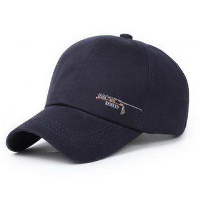 Stylish Labelling Embellished Letter Pattern Baseball Cap For Men