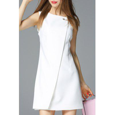 A Line Mini Sleeveless Dress