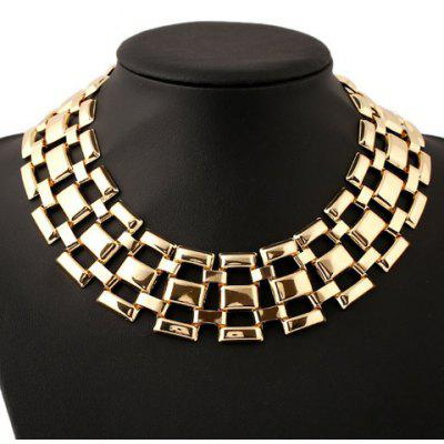 Statement Heavy Metal Hollow Out Necklace