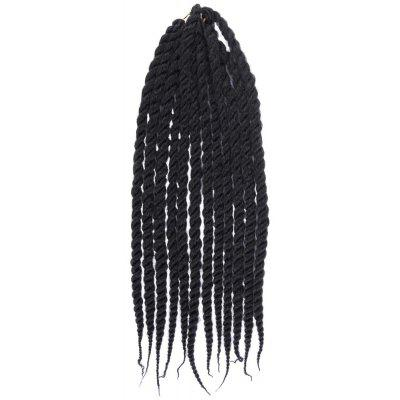 Fashion Long Kanekalon Flame-Resistant Fiber Micro Braided Hair Extension For Women