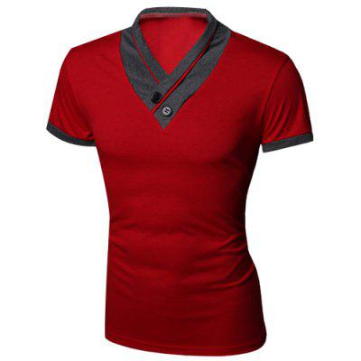 Red T Shirts Men