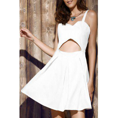 Alluring Bare Midriff Women's Strap Dress