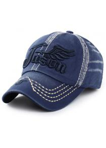 Stylish Letter and Wing Embroidery Baseball Cap For Men