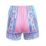 cheap Tribal Print Design High Waist Shorts for Women