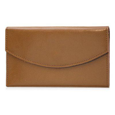 Long Style Vintage Flap Wallet