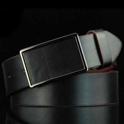 Stylish Smooth Rectangle Buckle Belt For Men цена 2017