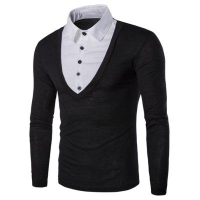 Black And White T Shirt Mens