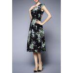 best Floral Chiffon Midi Dress