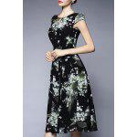 Floral Chiffon Midi Dress deal