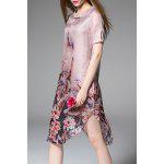 Elegant Floral Print Dress deal
